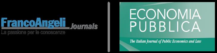 Economia Pubblica - The Italian Journal of Public Economics and Law