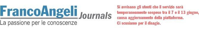 FrancoAngeli Journals & Series